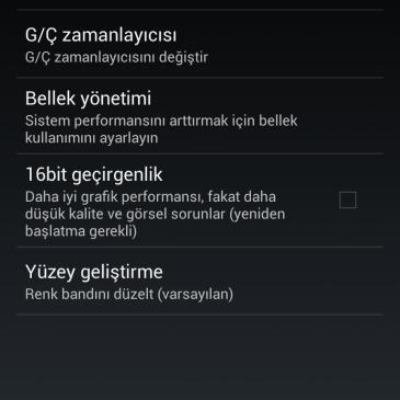 CyanogenMod Türkçe Çevirileri